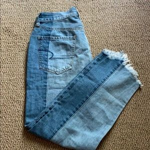 Vintage high rise American eagle jeans
